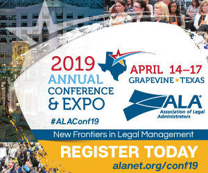 2019 Association of Legal Administrators Annual Conference & Expo