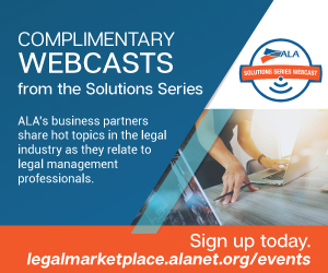 ALA Webcasts Solution Series