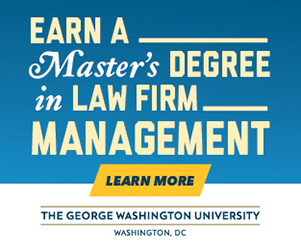 George Washington University Masters in Law Firm Management