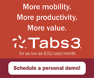 Tabs3 Mobility/Productivity