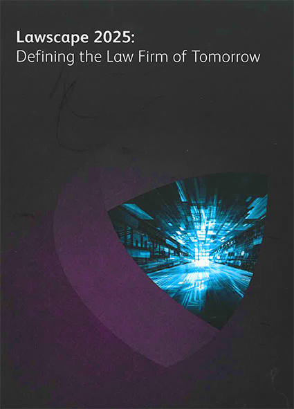 Book: Lawscape 2025: Defining the Law Firm of Tomorrow
