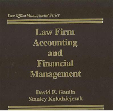 law firm accounting and financial mgmt