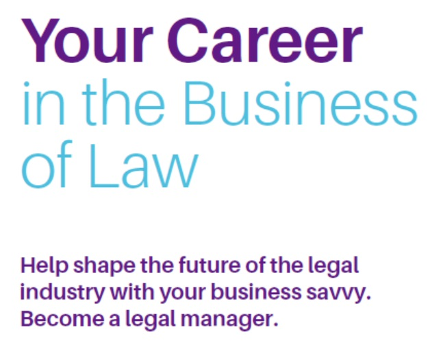 Your_Career_in_the_Business_of_Law_Student_Brochure cover