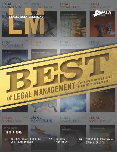 Legal Management Best of 2017_Cover