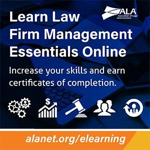 Law Firm Management Essentials Online