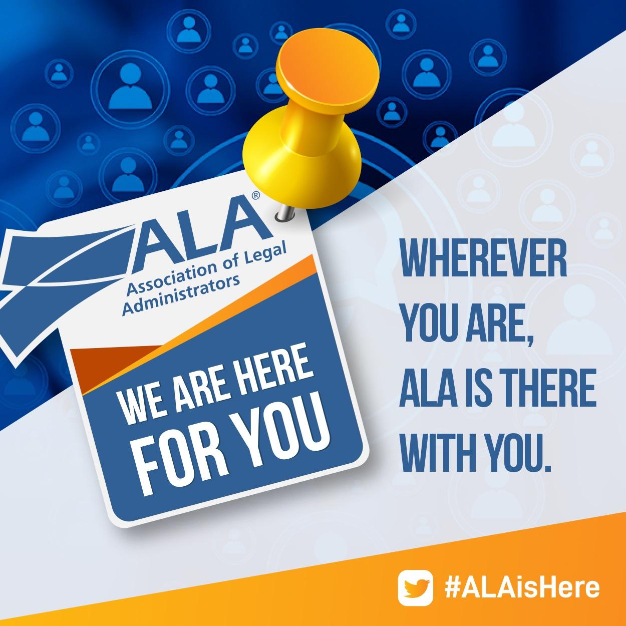 #ALAisHere