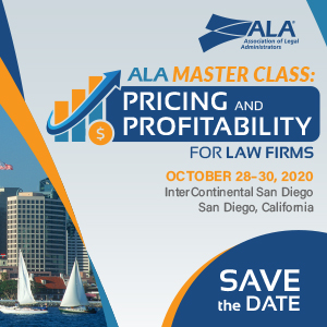 ALA Master Class: Pricing and Profitability