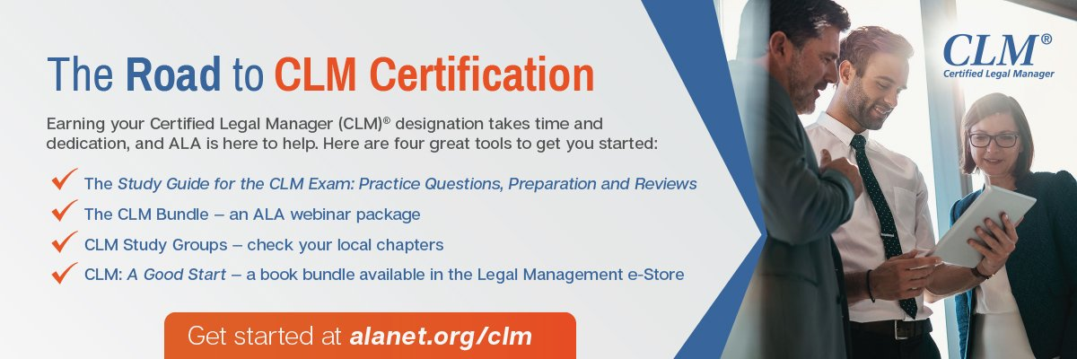 Road to CLM Certification