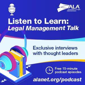 ALA Legal Management Talk Podcasts