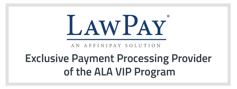 LawPay Exclusive Provider of the ALA ViP Program